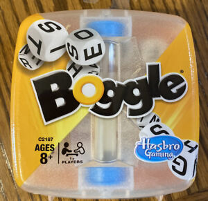 Boggle Classic Fast Paced Family Word Fun Game Hasbro  C2187 NEW