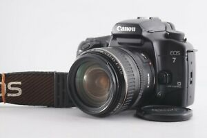 Canon EOS 7 + EF 28-105mm f/3.5-4.5 II USM Zoom Lens Kit Film Camera Japan 2835