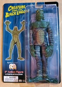 """Mego Creature from the Black Lagoon Action Figure 8"""" Dark Green Variant Color"""