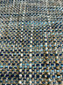 Tweed Blue Ocean View Alladin Texture Upholstery Fabric By The Yard