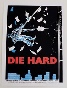 DIE HARD MONDO POSTER BY TIM DOYLE LIMITED EDITION SCREEN PRINT