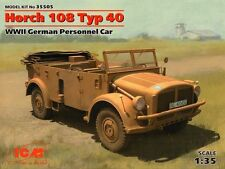 ICM 1/35 Horch 108 Typ 40,2ND GUERRE MONDIALE Allemand Personnel Voiture # 35505