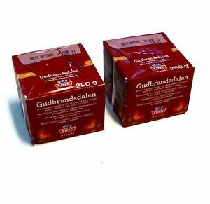 Gjetost Gudbrandsdalen Norwegian Brown Cheese 500g (2 x 250g)