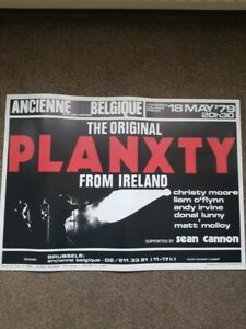 Planxty Christy Moore Poster