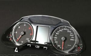 Audi Q5 8R Tdi Diesel 280km/H Instrument Cluster Tacho 8R0920900G X