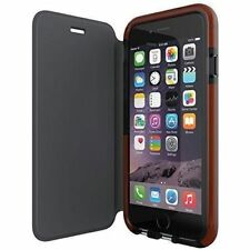 GENUINE TECH21 CLASSIC SMOKEY COVER FLIP WALLET BOOK CASE IPHONE 6S 6 7 8 4.7""