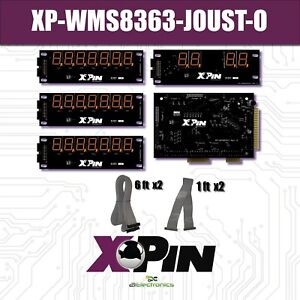 XPin XP-WMS8363-J-O Display boards in Orange for Williams Joust pinball machines