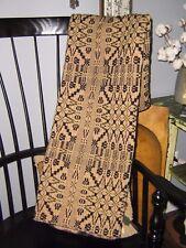 Vintage Family Heirloom Weavers - Lap Robe/Small Throw WOOL