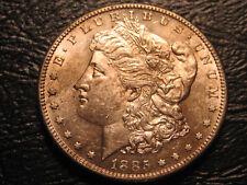 "1885-S Morgan Dollar                    ""Uncirculated""                 (1st)"