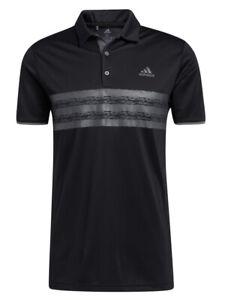 adidas Core Polo Shirt - Black/Grey Five -  Mens