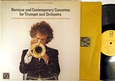 WESTMINSTER GOLD Baroque & Contemporary Trumpet DELMOTTE SCHERCHEN WGS-8108 NM-