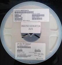 4000 Pezzo Ceramica Condensatori AVX 0603 10nF 50V 10% X7R