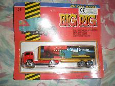 80'S VINTAGE BIG RIG RED TRUCK FREE WHEELING MIB