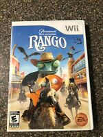 Rango (Nintendo Wii, 2011) Clean & Tested Working - Free Shipping