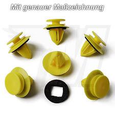 20x puerta revestimiento clips de fijación + juntas para mercedes benz | 0009916398