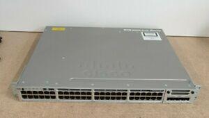 Cisco WS-C3850-48P-L • Gigabit Ethernet PoE Switch • LAN Base • C3850-NM-4-1G