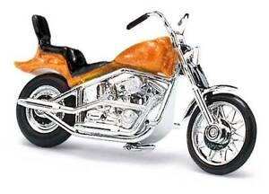 Busch 1:87 40159 US Moto (Hachoir), Orange Met Neuf