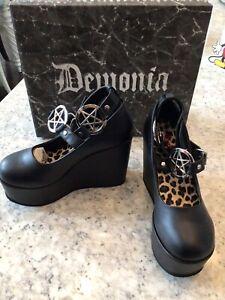 gothic platform shoes