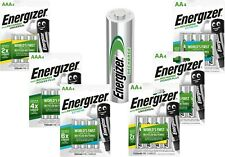 Energizer AA & AAA Rechargeable Batteries HR03 HR6 NiMH Pre-Charged Phone Camera