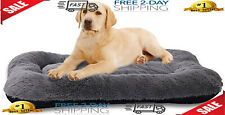 New listing Dog Bed Medium Size Dogs, Washable Dog Crate Bed Cushion, Soft & Breathable Bed