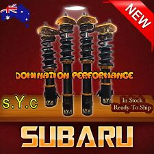 SUBARU FORESTER 01-07 Coilover Kit - Complete SYC Fully Adjustable Suspensions