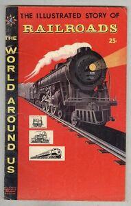 World Around Us #4 December 1958 VG Railroads – L.B. Cole