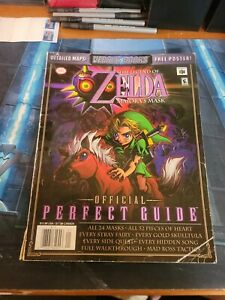 Legend of Zelda Majora's Mask Official Perfect Guide Versus Books No Poster