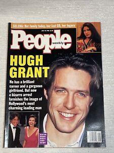 People Magazine July 10,1995 Hugh Grant Hollywood Selena Quintanilla Legacy