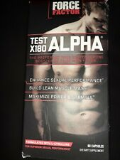 Force Factor Test X180 Alpha Free Testosterone Booster