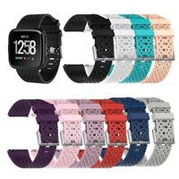 TPE Breathable Adjustable Watch Band Bracelet Strap for Fitbit Versa L/S BEST