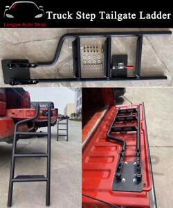Pickup Truck Step Tailgate Ladder Fits for Dodge RAM 1500 2500 3500 1981-2021