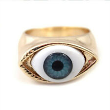 Brown Blue Color Gothic Rings For Men Women Eyes Rings Jewelry Fashion