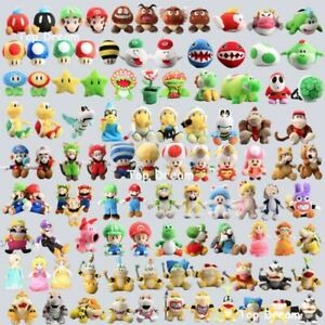 Nintendo Super Mario Bros. Series Plush Toy Koopa Luigi Stuffed Doll Video Games
