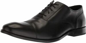Mens Cole Haan Williams Cap Toe Oxford - Black Leather, Size 7.5 M US [C12202]