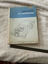 Automotive Air Conditioning by Boyce Dwiggins Vintage 1967