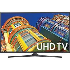 "Samsung UN40KU6290 40"" Class Smart LED 4K UHD TV With Wi-Fi"