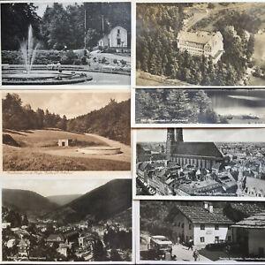 7 Foto Ansichtskarten Deutsches Reich um 1930, alle frankiert !