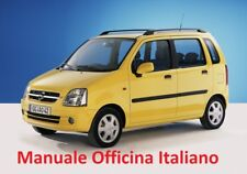 OPEL AGILA A  (2000/2007) Manuale Officina Riparazione ITALIANO