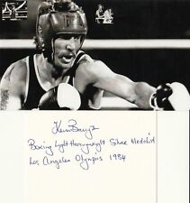 Kevin Barry: Olympia Silber 1984 Boxen NZL