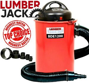 Lumberjack 50 Litre Dust Extractor Vacuum with Hose Workshop Chip Collector 240v
