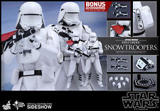 "Hot Toys Star Wars FIRST ORDER SNOWTROOPERS 12"" Figure Set 1/6 Scale MMS323"