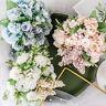 13 Heads Artificial Silk Flowers Bouquet Fake Leaf Buch Wedding Party Home Decor