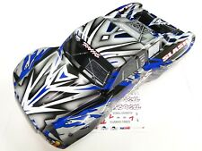 NEW TRAXXAS SLASH 1/10 2WD Body Factory Painted BLUE PROGRAPHIX VXL RL4B