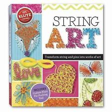 String Art : Turn String and Pins into Works of Art by Eva Steele-Staccio...