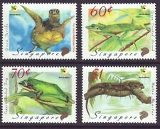 Singapore 1999 SC 909-912 MNH Set Reptile