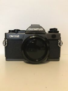 Olympus OM-3Ti Film Camera / Case / Mint