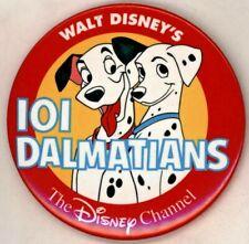"""1990's The Disney Channel 101 Dalmatians 3"""" Pinback Button"""