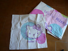 Parure couette 1 pers. Hello Kitty 140x200 (envoi possible voir annonce)