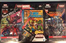 Marvel Universe/ Legends 3.75 Comic Pack Lot- Wolverine & She Hulk, Web Slingers