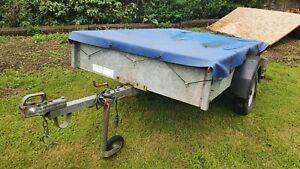 Galvanised trailer  6'3 X 4'3        Unbraked